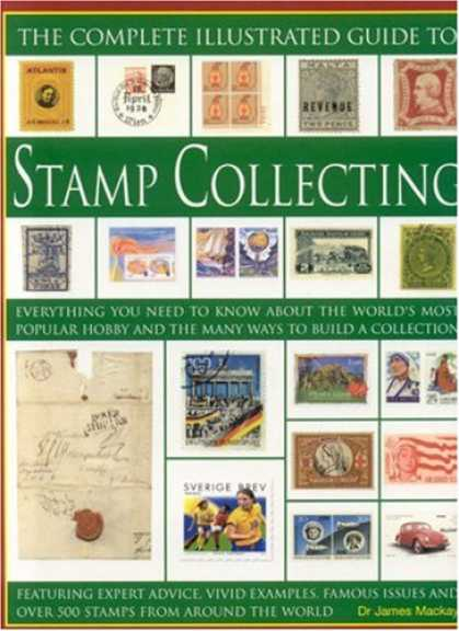 Books About Collecting - The Complete Illustrated Guide to Stamp Collecting