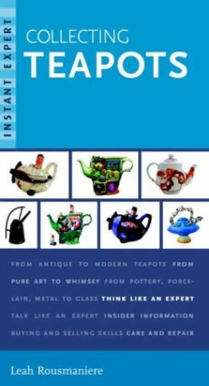 Books About Collecting - Instant Expert: Collecting Teapots