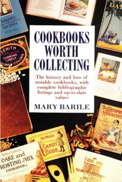 Books About Collecting - Cookbooks Worth Collecting
