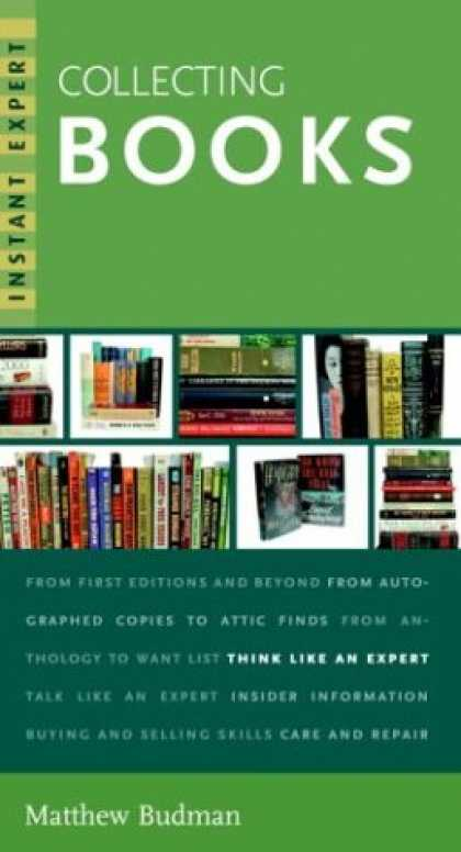 Books About Collecting - Instant Expert: Collecting Books