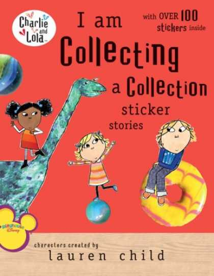 Books About Collecting - I Am Collecting a Collection Sticker Stories (Charlie and Lola)