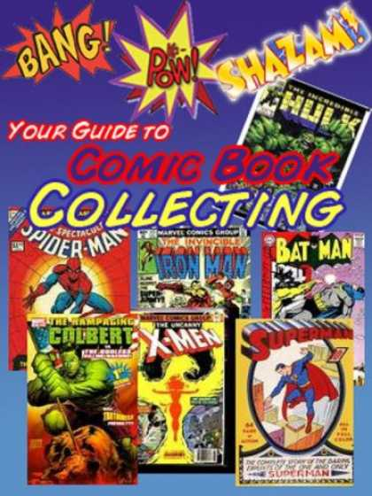 Books About Collecting - Your Guide to Comic Book Collecting