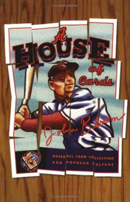 Books About Collecting - A House of Cards: Baseball Card Collecting and Popular Culture (American Culture