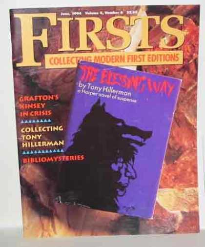 Books About Collecting - FIRSTS: COLLECTING MODERN FIRST EDITIONS. VOLUME 4. NO. 6,1994 SINGLE ISSUE.