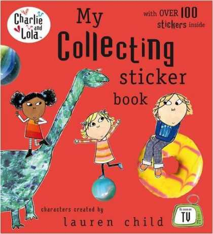 Books About Collecting - My Collecting Sticker Book (Charlie & Lola)