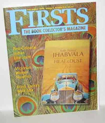 Books About Collecting - FIRSTS: COLLECTING MODERN FIRST EDITIONS JULY/AUGUST, 1999 VOLUME 9, NUMBER 7/8.
