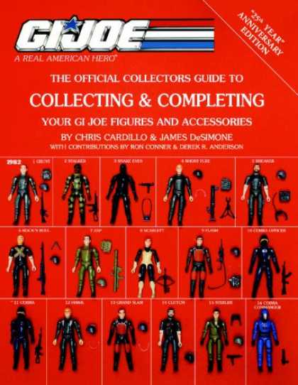 Books About Collecting - Collecting & Completing Your GI Joe Figures and Accessories