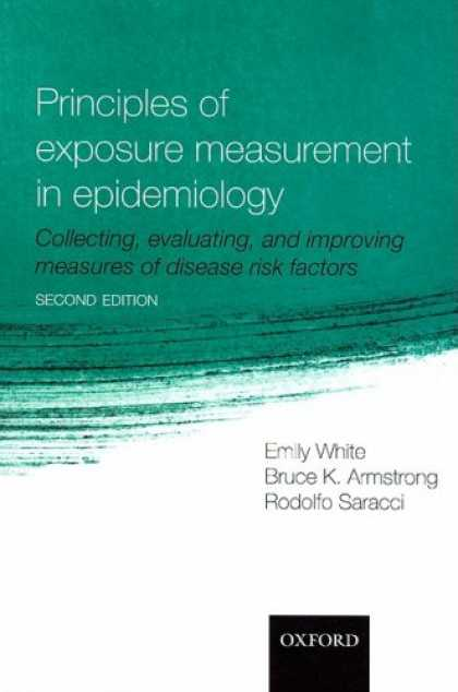 Books About Collecting - Principles of Exposure Measurement in Epidemiology: Collecting, Evaluating and I