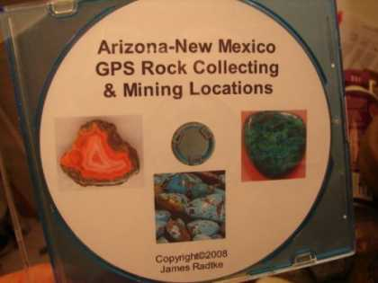 Books About Collecting - Arizona New Mexico GPS Rock Collecting Mining Locations By James Radtke