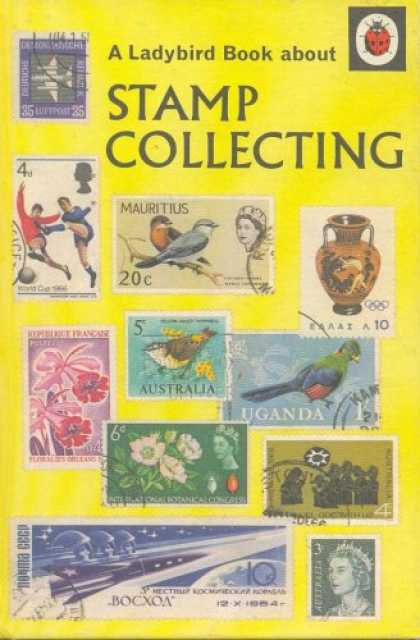 Books About Collecting - Stamp Collecting (A Ladybird book series 634)