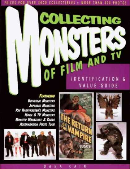 Books About Collecting - Collecting Monsters of Film and TV: Identification & Value Guide