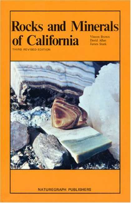 Books About Collecting - Rocks and Minerals of California (Rock Collecting)