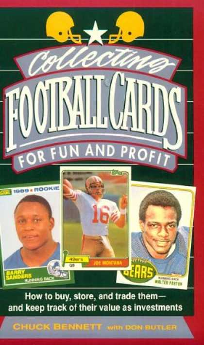 Books About Collecting - Collecting Football Cards for Fun and Profit: How to Buy, Store, and Trade Them-