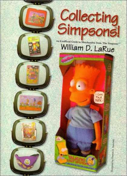 Books About Collecting - Collecting Simpsons! An Unofficial Guide to Merchandise from The Simpsons