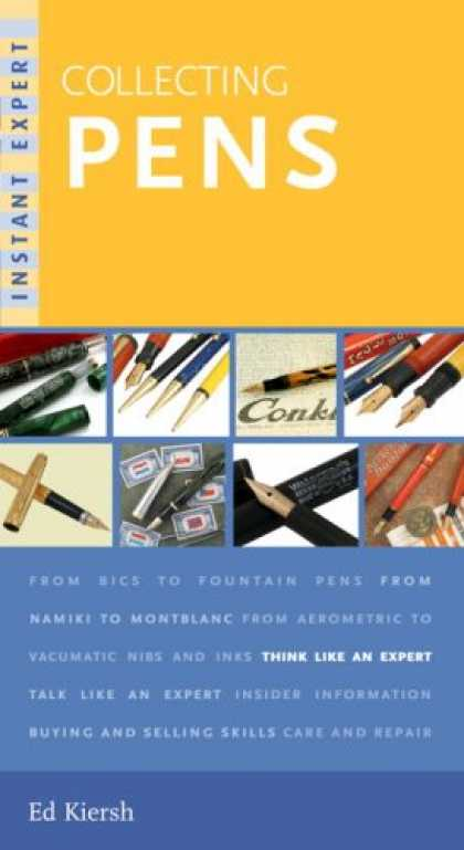 Books About Collecting - Instant Expert: Collecting Pens