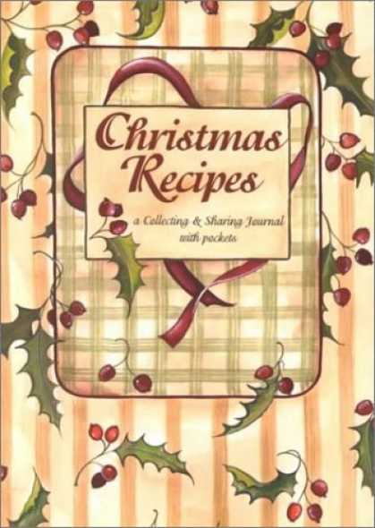 Books About Collecting - Christmas Recipes (A Collecting & Sharing Journal with Pockets)