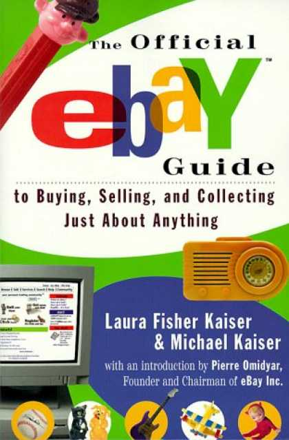Books About Collecting - The Official eBay Guide to Buying, Selling, and Collecting Just About Anything