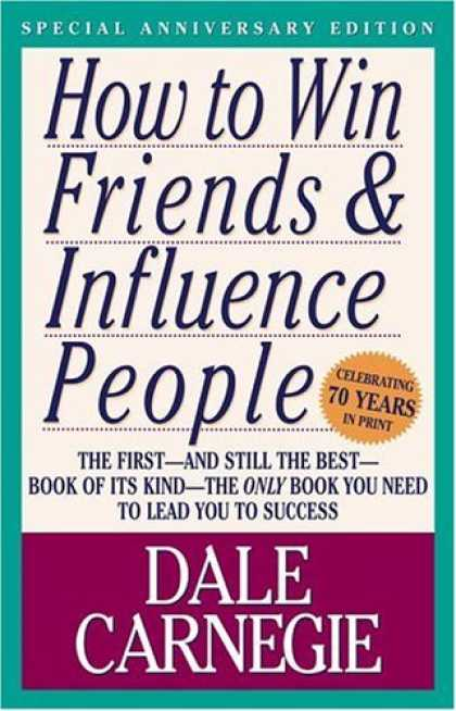 Books About Friendship - How to Win Friends & Influence People