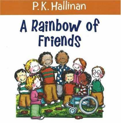 Books About Friendship - A Rainbow of Friends