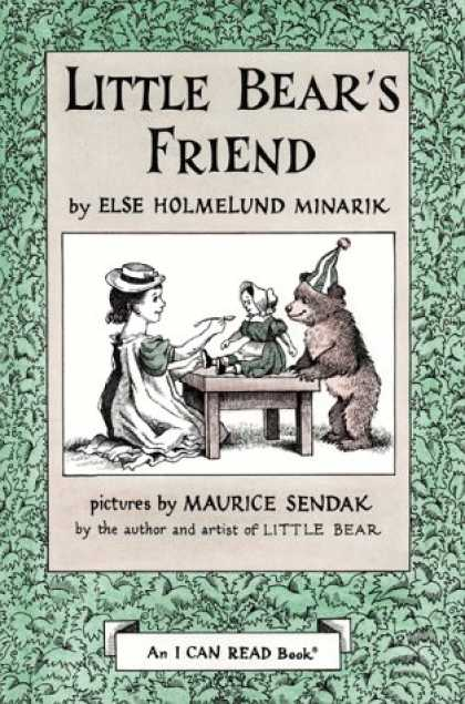 Books About Friendship - Little Bear's Friend I Can Read Book