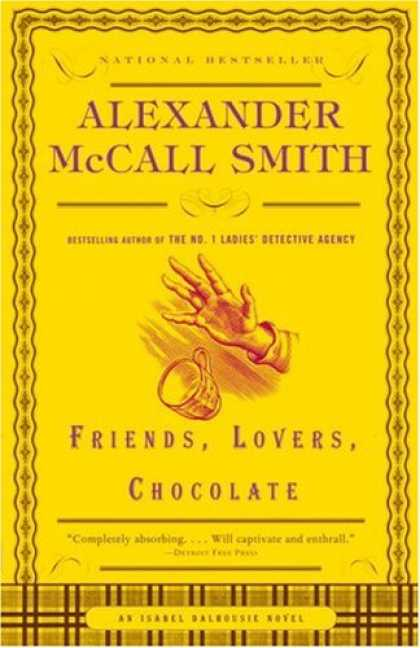 Books About Friendship - Friends, Lovers, Chocolate (Isabel Dalhousie Mysteries)