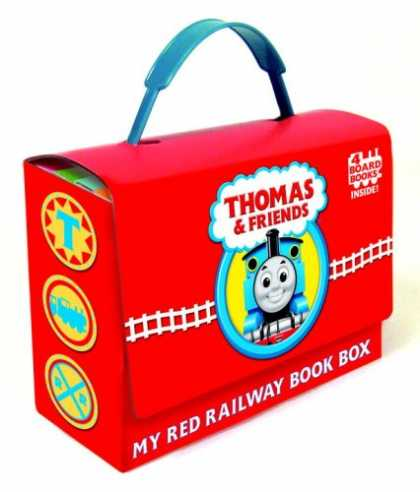 Books About Friendship - Thomas and Friends: My Red Railway Book Box (Bright & Early Board Books(TM))