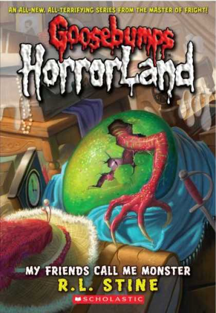 Books About Friendship - My Friends Call Me Monster (Goosebumps Horrorland, No. 7)