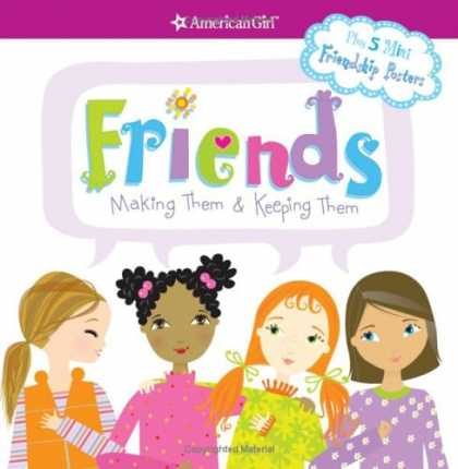 Books About Friendship - Friends: Making Them & Keeping Them (American Girl)