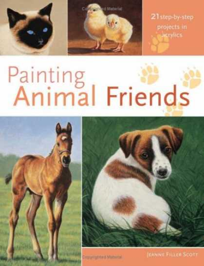 Books About Friendship - Painting Animal Friends