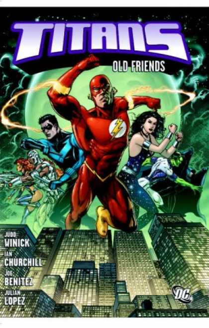Books About Friendship - Titans: Old Friends