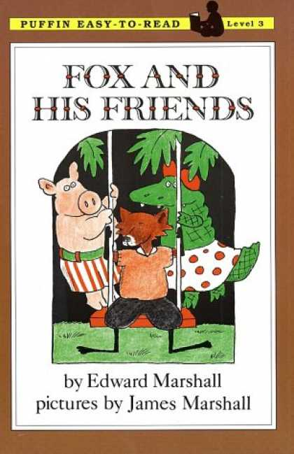 Books About Friendship - Fox and His Friends: Level 3 (Easy-to-Read, Puffin)