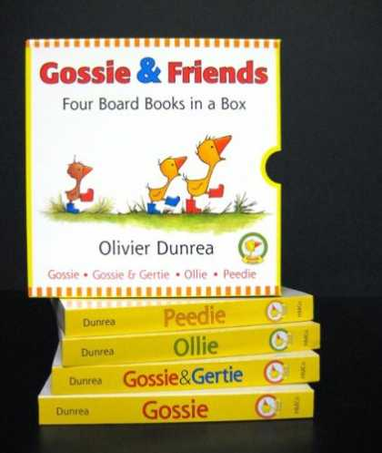 Books About Friendship - Gossie and Friends Board Book Set