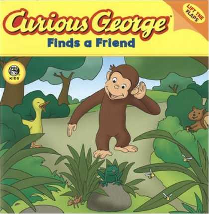 Books About Friendship - Curious George Finds a Friend