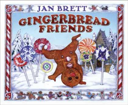 Books About Friendship - Gingerbread Friends