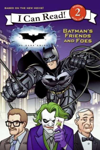 Books About Friendship - The Dark Knight: Batman's Friends and Foes (I Can Read Book 2)