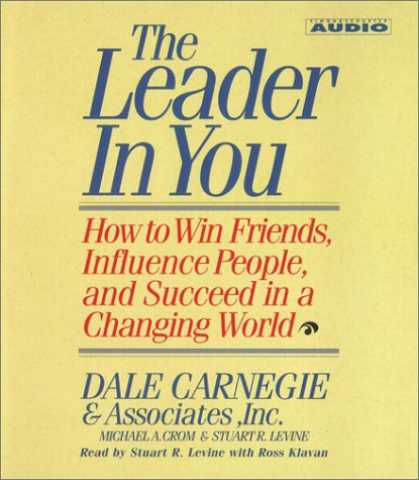 Books About Friendship - The Leader In You: How To Win Friends Influence People And Succeed In A Complete
