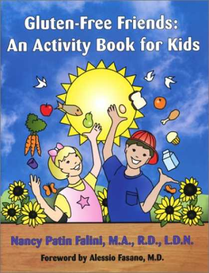Books About Friendship - Gluten-Free Friends: An Activity Book for Kids