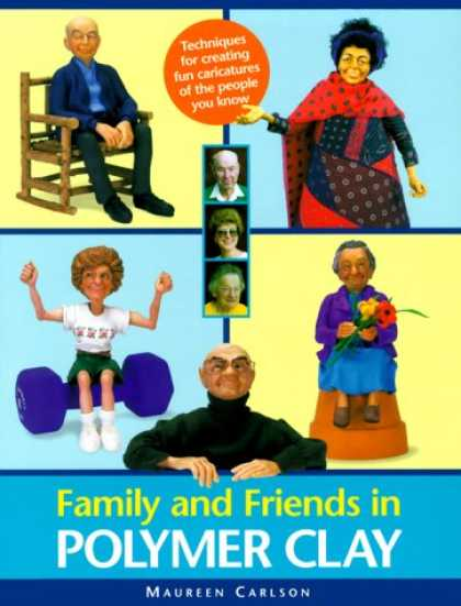 Books About Friendship - Family and Friends in Polymer Clay