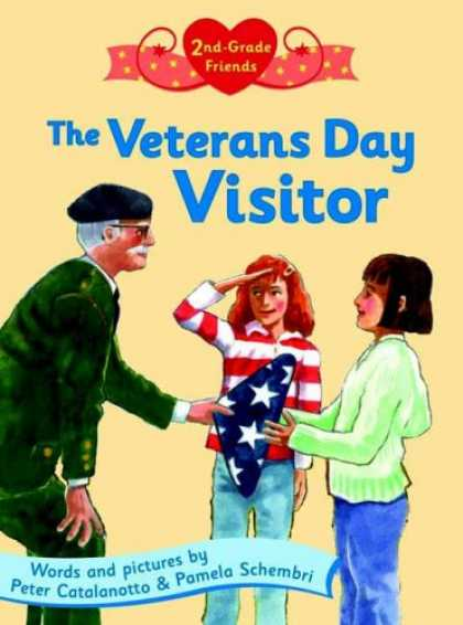 Books About Friendship - The Veterans Day Visitor (Second Grade Friends)