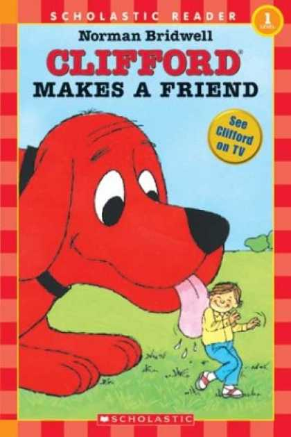 Books About Friendship - Clifford Makes A Friend (level 1)