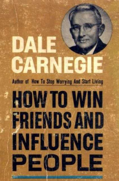 Books About Friendship - HOW TO WIN FRIENDS AND INFLUENCE PEOPLE
