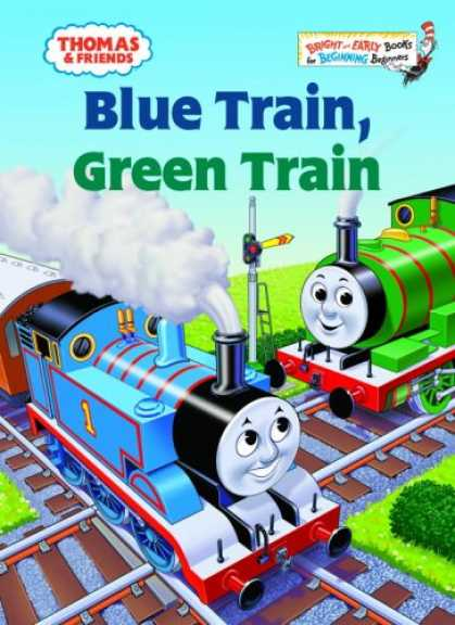 Books About Friendship - Thomas & Friends: Blue Train, Green Train (Bright & Early Books(R))