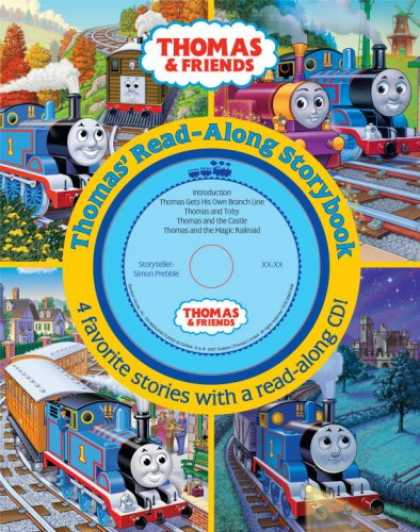 Books About Friendship - Thomas & Friends: Thomas' Read Along Storybook