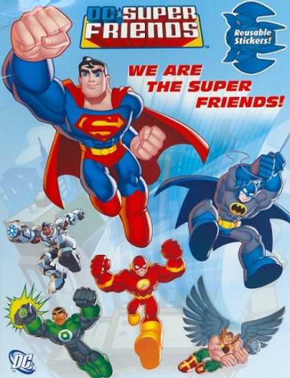Books About Friendship - We Are the Super Friends (Reusable Sticker Book)