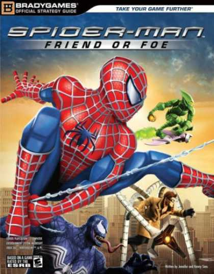 Books About Friendship - Spider-Man: Friend or Foe Official Strategy Guide (Bradygames Official Strategy