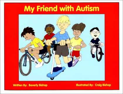 Books About Friendship - My Friend with Autism: A Coloring Book for Peers and Siblings