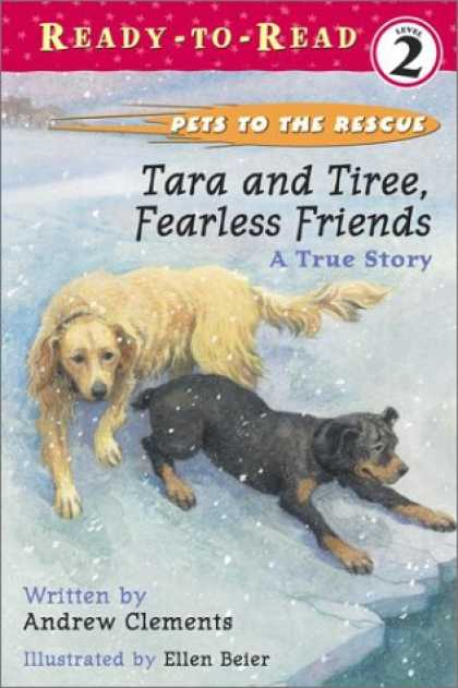Books About Friendship - Tara and Tiree, Fearless Friends : A True Story