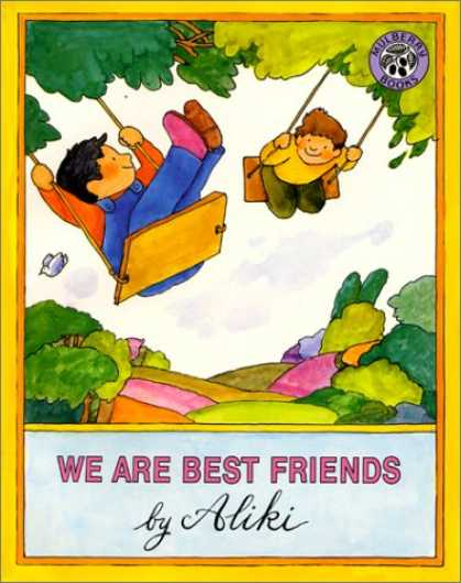 Books About Friendship - We Are Best Friends (Mulberry Books)
