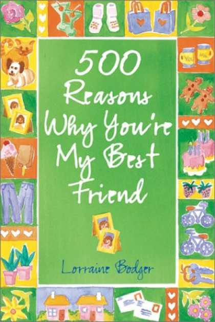 Books About Friendship - 500 Reasons Why You're My Best Friend