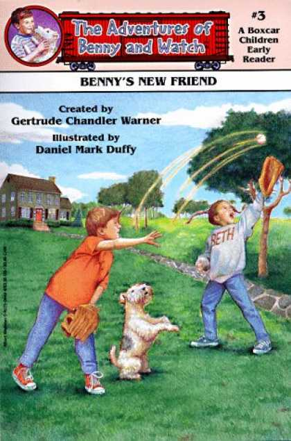 Books About Friendship - Benny's New Friend (Adventures of Benny and Watch)